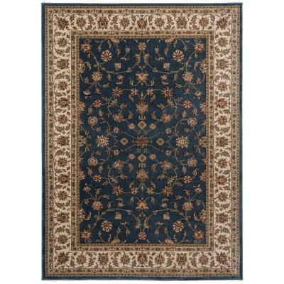 Maggie Blue 7 ft. 10 in. x 10 ft. Area Rug
