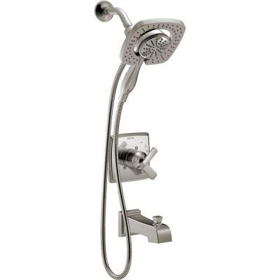 Ashlyn In2ition 1-Handle Tub and Shower Faucet Trim Kit in Stainless
