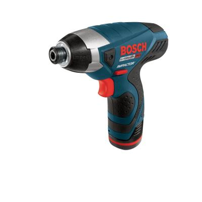 Bosch Factory Reconditioned Impact Pocket Driver with 2 Batteries