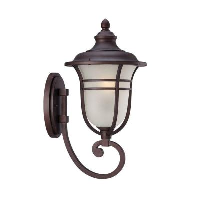 Acclaim Lighting Montclair Collection 1-Light Outdoor Architectural Bronze Wall Mount Light