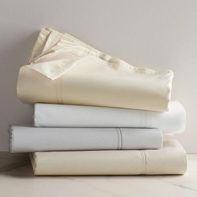 Legends 800-Thread Count Egyptian Cotton Sateen Flat Sheet