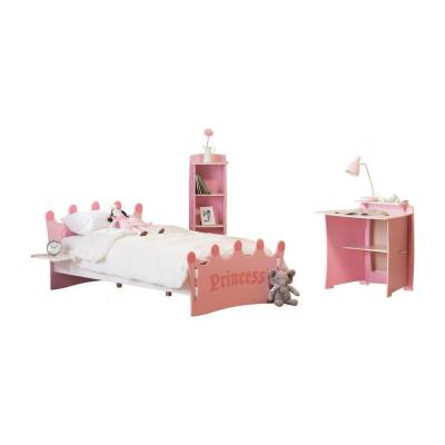 RST Outdoor Legare Princess Bed and Bookcase Set