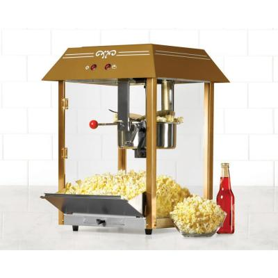 59 in. Old Fashioned Movie Time Popcorn Cart in Black