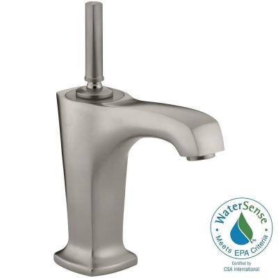 Margaux Single Hole Single Handle Low-Arc Bathroom Vessel Sink Faucet in