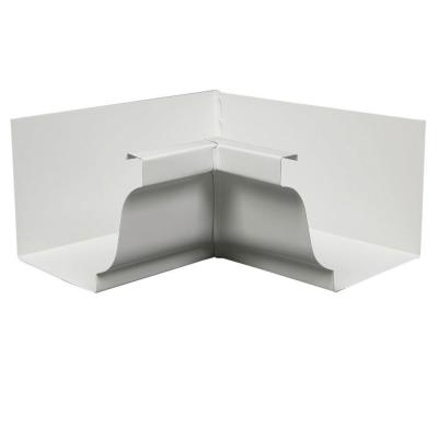 Amerimax Home Products 6 In White Aluminum Inside Gutter