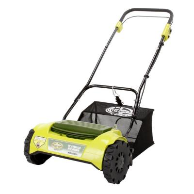 Sun Joe 16 in. Mow Joe Cordless Electric Reel Lawn Mower with Grass Catcher-DISCONTINUED