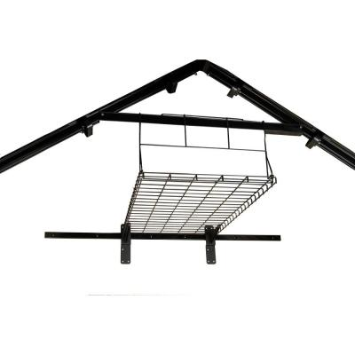 Suncast 3 ft 7 in x 2 ft 1 2 in metal shed loft kit for Loft kits home depot