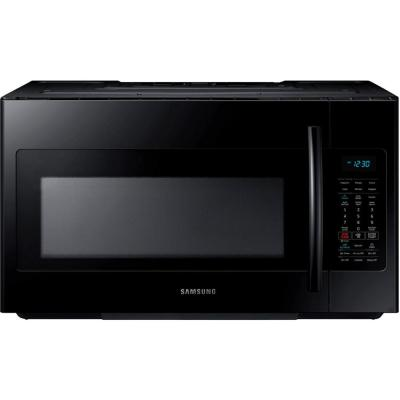 Samsung 30 in. W 1.8 cu. ft. Over the Range Microwave in Black with Sensor Cooking