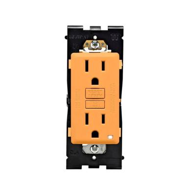 Leviton Renu 15 Amp Tamper Resistant GFCI Duplex Outlet - Toasted Coconut-DISCONTINUED