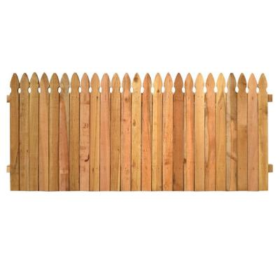 3-1/2 ft. x 8 ft. Western Red Cedar Privacy French Gothic