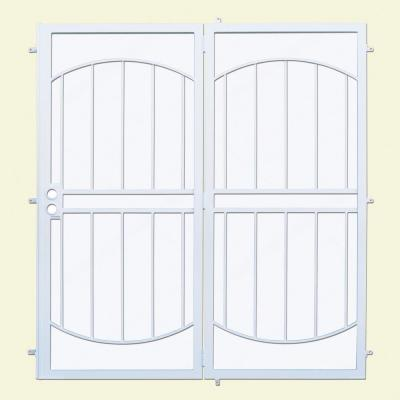 Arcada Patio Steel Security Door with Expanded Metal Screen
