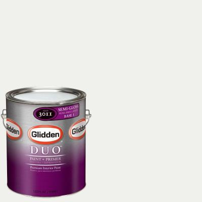 Glidden DUO Martha Stewart Living 1-gal. #MSL057-01S Picket Fence Semi-Gloss Interior Paint with Primer-DISCONTINUED