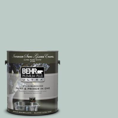 BEHR Premium Plus Ultra Home Decorators Collection 1-gal. #HDC-CL-23 Soothing Spring Semi-Gloss Enamel Interior Paint