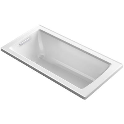 Archer 5 ft. Reversible Drain Soaking Tub in White
