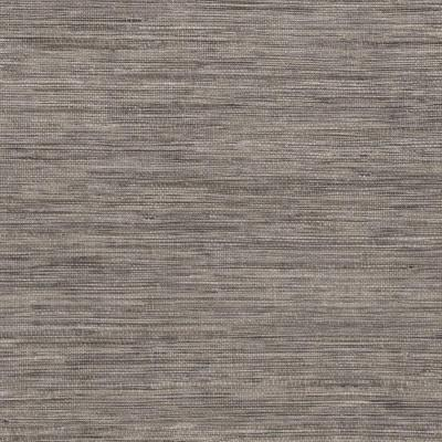 60.8 sq. ft. Tapis Grey Faux Grasscloth Wallpaper Product Photo