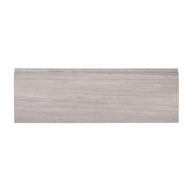 4 in. x 12 in. Honed Limestone Base Trim