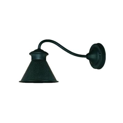 World Imports Dark Sky Essen 1-Light Outdoor Rust Wall Lamp
