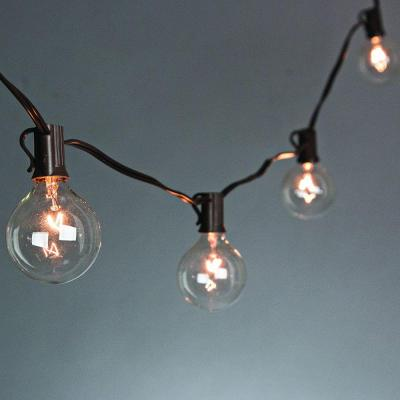 20-Light Clear Patio String-to-String Light Set Product Photo