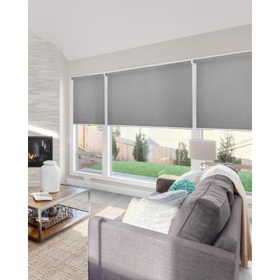 Snap-N'-Glide Cordless Light Filtering UV Protection Roller Shade