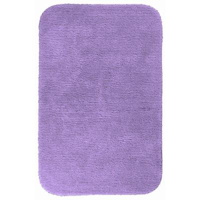 Bath mat accent rug glamor purple 30 x 50 bathroom for Rugs with purple accents