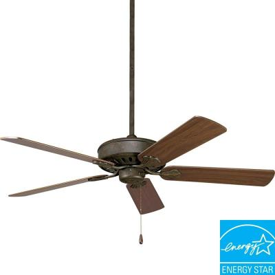Progress Lighting AirPro Performance 52 In. Weathered Bronze Ceiling Fan P2503-46