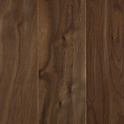 Mohawk Natural Walnut 1/2 in. x 5.25 in. x Random Length Soft Scraped Engineered Uniclic Hardwood Flooring (23 sq. ft. / case)