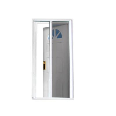 40 in. x 81.5 in. White Retractable Screen Door Product Photo