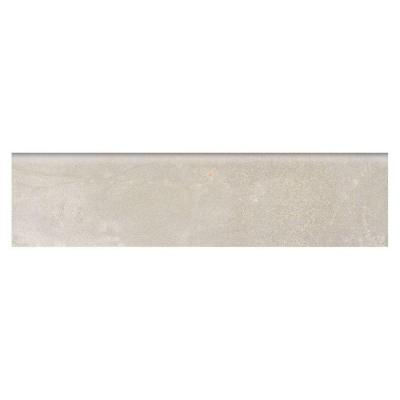 Developed by Nature Pebble 3 in. x 12 in. Glazed Porcelain Floor Bullnose Tile Product Photo