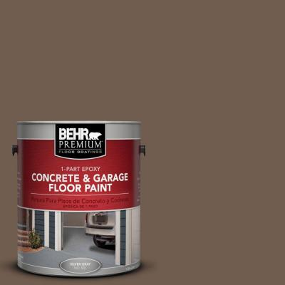 1-Gal. #PFC-35 Rich Brown 1-Part Epoxy Concrete and Garage Floor Paint