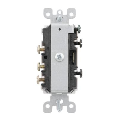 leviton decora 15 amp 3 way ac combination switch white r52 05641 leviton decora 15 amp 3 way ac combination switch white r52 05641 0ws the home depot
