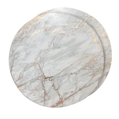 Marble Cork 15 in. x 15 in. Cork Round Placemats