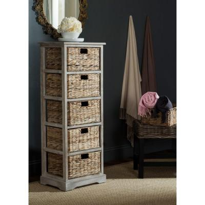 Vedette 46.1 in. H x 17.3 in. W 5-Drawer Chest in