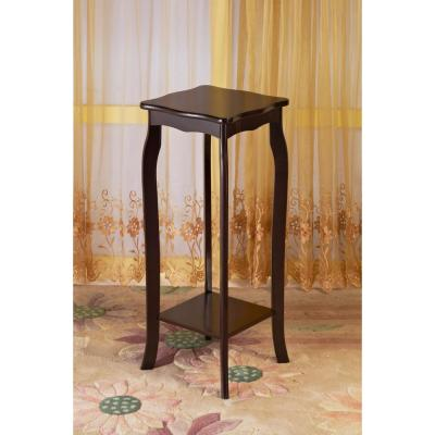 Frenchi Home Furnishing Espresso End Table