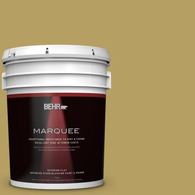 BEHR MARQUEE Home Decorators Collection 5-gal. #HDC-CL-19 Apple Wine Flat Exterior Paint