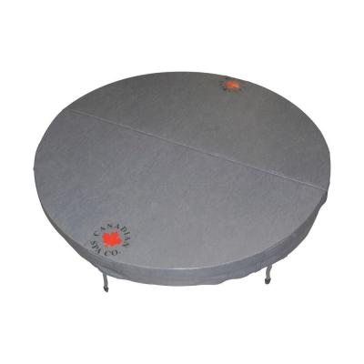 72 in. Round Hot Tub Cover with 5 in./3 in. Taper
