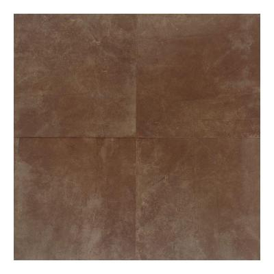 Concrete Connection Plaza Rouge 20 in. x 20 in. Porcelain Floor