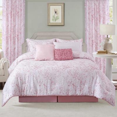 Blush Comforter Set