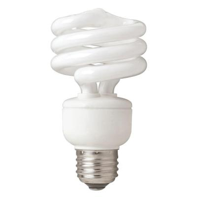 TCP 75W Equivalent Daylight  Spiral CFL Light Bulb