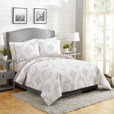 Chambers 3-Piece Cotton Quilt Set