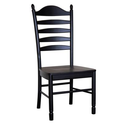 Carolina Cottage Whitman Dining Chair in Antique Black