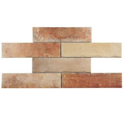 Americana Boston Brick North East 2-1/2 in. x 10 in. Porcelain Floor and Wall Tile (5.38 sq. ft. / case) Product Photo