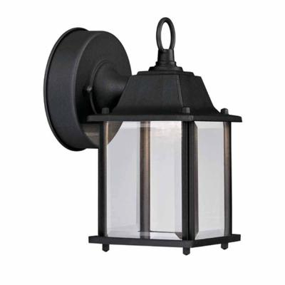 Black Outdoor LED Wall Lantern Product Photo