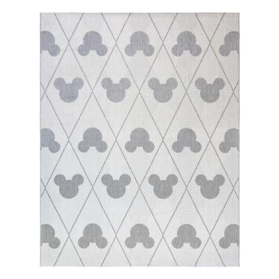 Disney Mickey Mouse Argyle Indoor/Outdoor Area Rug