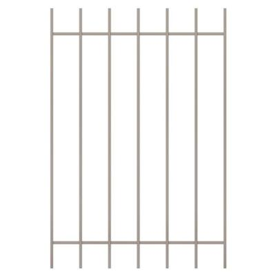 Unique Home Designs Guardian 36 in. x 54 in. Tan 7-Bar Window Guard-DISCONTINUED