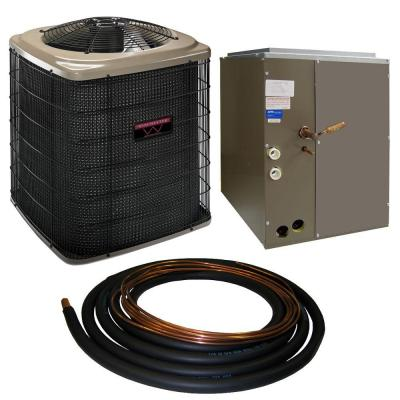 Winchester 2 Ton 13 SEER Sweat Heat Pump System with 17.5 in. Coil and 30 ft. Line Set