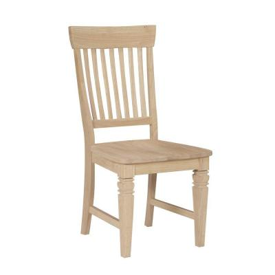 Unfinished Tall Java Mission Chair (Set of 2) Product Photo