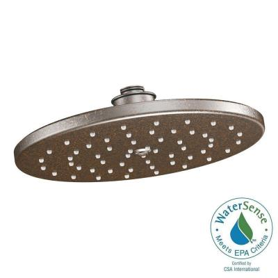 MOEN Waterhill 1-Spray 10 in. Eco-Performance Rainshower Showerhead Featuring Immersion in Oil Rubbed Bronze