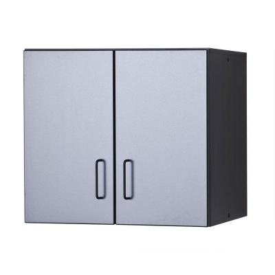 Tuff Stor 29 in. W x 27.5 in. H x 14.5 in. D Thermo-Fused Melamine Hanging Cabinet in Grey