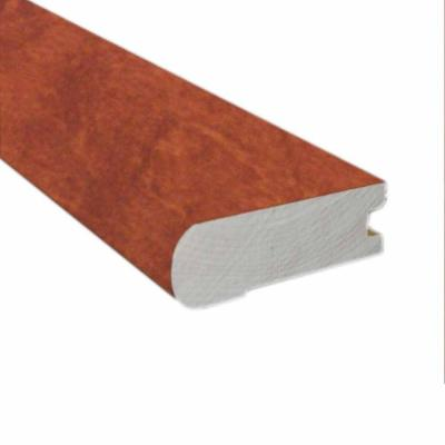 Birch Cognac 0.81 in. Thick x 2-3/4 in. Wide x 78 in. Length Flush Mount Stair Nose Molding Product Photo