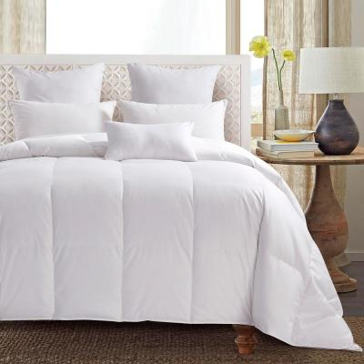 Extra Warmth 600 Fill Power 75% White Goose Down Comforter